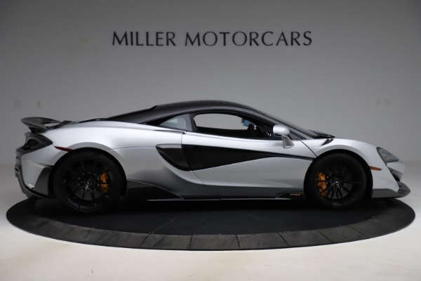 Used 2019 McLaren 600LT for sale $223,900 at Bugatti of Greenwich in Greenwich CT 06830 8