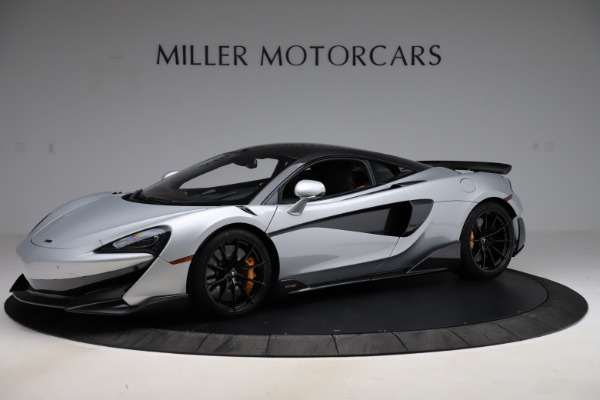 Used 2019 McLaren 600LT for sale $223,900 at Bugatti of Greenwich in Greenwich CT 06830 1