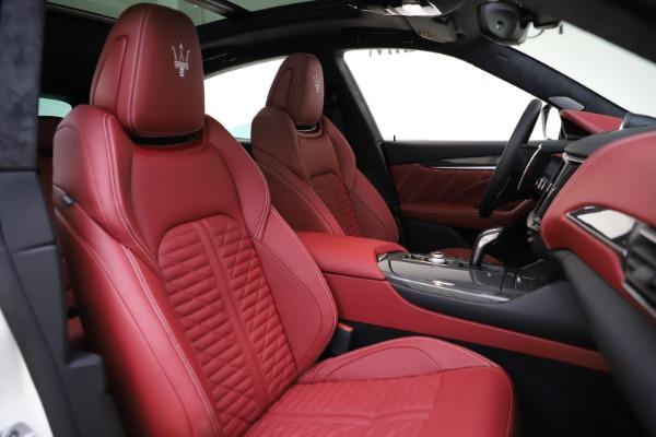New 2021 Maserati Levante GTS for sale $140,585 at Bugatti of Greenwich in Greenwich CT 06830 21
