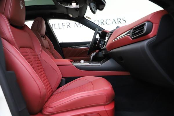 New 2021 Maserati Levante GTS for sale $140,585 at Bugatti of Greenwich in Greenwich CT 06830 22