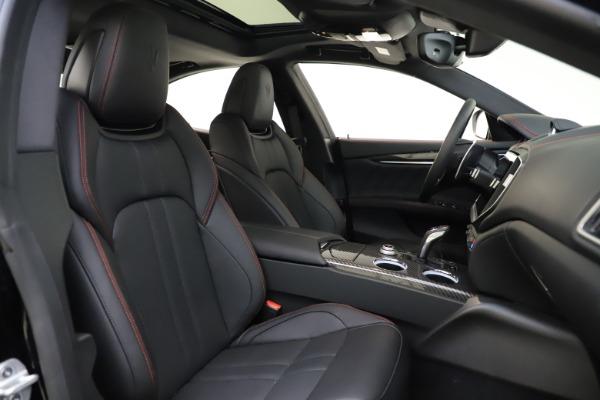 New 2021 Maserati Ghibli S Q4 GranSport for sale $98,035 at Bugatti of Greenwich in Greenwich CT 06830 23