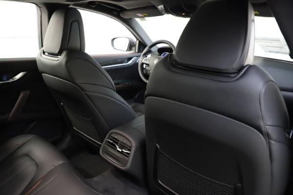 New 2021 Maserati Ghibli S Q4 GranSport for sale $98,035 at Bugatti of Greenwich in Greenwich CT 06830 28