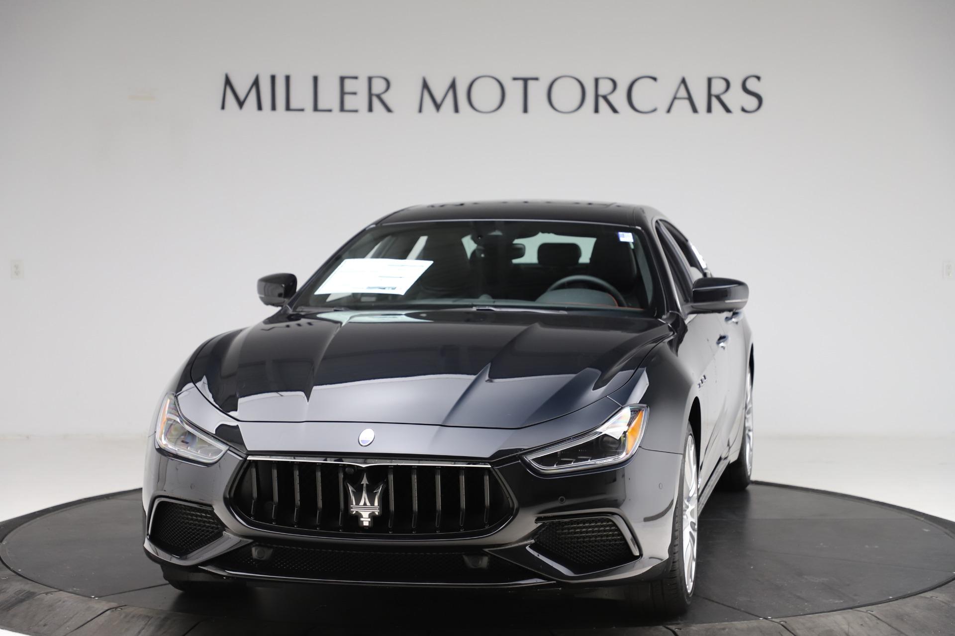 New 2021 Maserati Ghibli S Q4 GranSport for sale $98,035 at Bugatti of Greenwich in Greenwich CT 06830 1