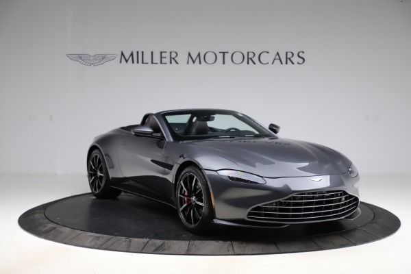 New 2021 Aston Martin Vantage Roadster Convertible for sale Sold at Bugatti of Greenwich in Greenwich CT 06830 10