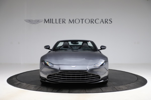 New 2021 Aston Martin Vantage Roadster Convertible for sale Sold at Bugatti of Greenwich in Greenwich CT 06830 11