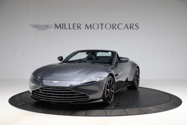 New 2021 Aston Martin Vantage Roadster Convertible for sale Sold at Bugatti of Greenwich in Greenwich CT 06830 12