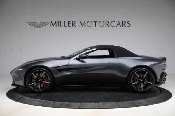 New 2021 Aston Martin Vantage Roadster Convertible for sale Sold at Bugatti of Greenwich in Greenwich CT 06830 13