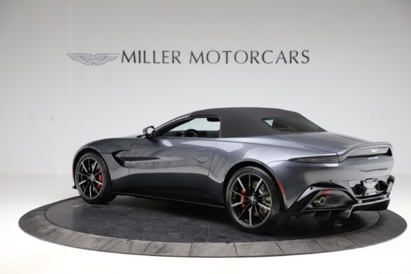 New 2021 Aston Martin Vantage Roadster Convertible for sale Sold at Bugatti of Greenwich in Greenwich CT 06830 14