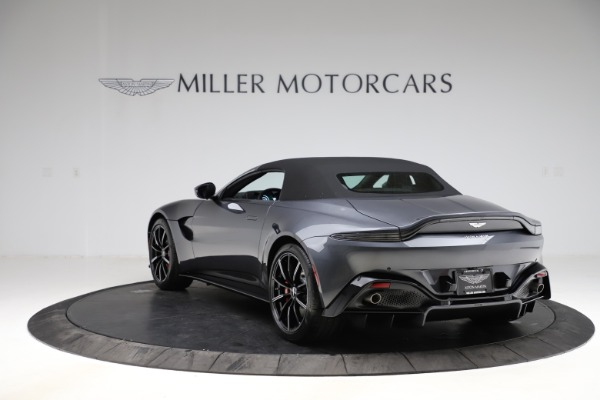 New 2021 Aston Martin Vantage Roadster Convertible for sale Sold at Bugatti of Greenwich in Greenwich CT 06830 15