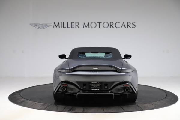 New 2021 Aston Martin Vantage Roadster Convertible for sale Sold at Bugatti of Greenwich in Greenwich CT 06830 16