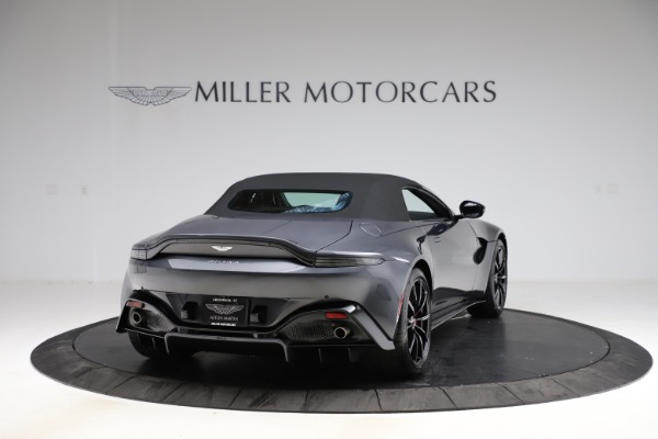 New 2021 Aston Martin Vantage Roadster Convertible for sale Sold at Bugatti of Greenwich in Greenwich CT 06830 17