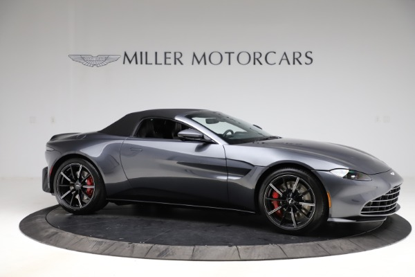 New 2021 Aston Martin Vantage Roadster Convertible for sale Sold at Bugatti of Greenwich in Greenwich CT 06830 20