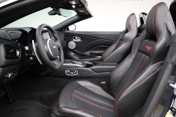New 2021 Aston Martin Vantage Roadster Convertible for sale Sold at Bugatti of Greenwich in Greenwich CT 06830 21
