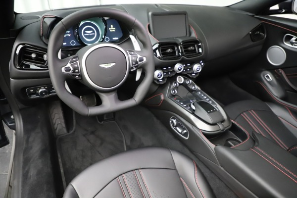 New 2021 Aston Martin Vantage Roadster Convertible for sale Sold at Bugatti of Greenwich in Greenwich CT 06830 22