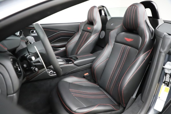 New 2021 Aston Martin Vantage Roadster Convertible for sale Sold at Bugatti of Greenwich in Greenwich CT 06830 23