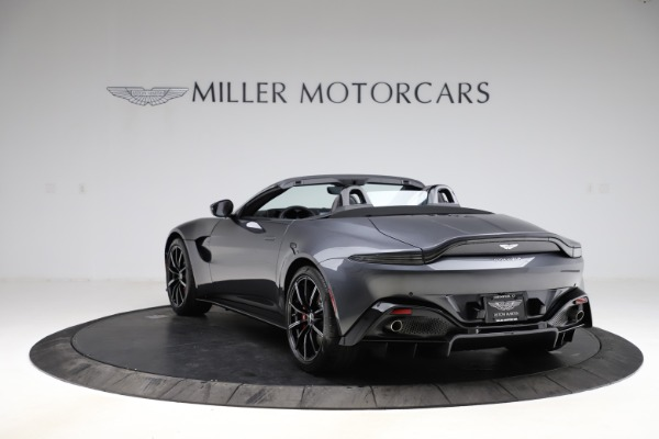 New 2021 Aston Martin Vantage Roadster Convertible for sale Sold at Bugatti of Greenwich in Greenwich CT 06830 4
