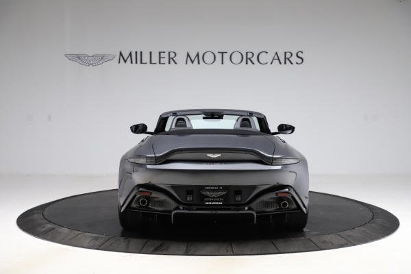 New 2021 Aston Martin Vantage Roadster Convertible for sale Sold at Bugatti of Greenwich in Greenwich CT 06830 5