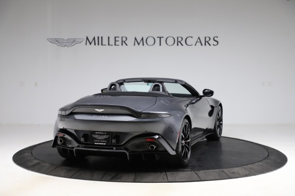 New 2021 Aston Martin Vantage Roadster Convertible for sale Sold at Bugatti of Greenwich in Greenwich CT 06830 6