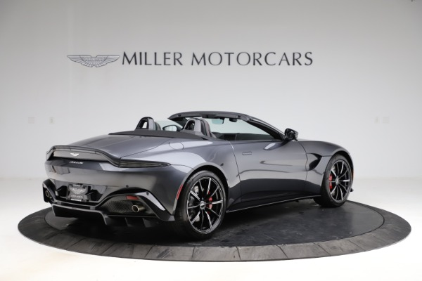 New 2021 Aston Martin Vantage Roadster Convertible for sale Sold at Bugatti of Greenwich in Greenwich CT 06830 7