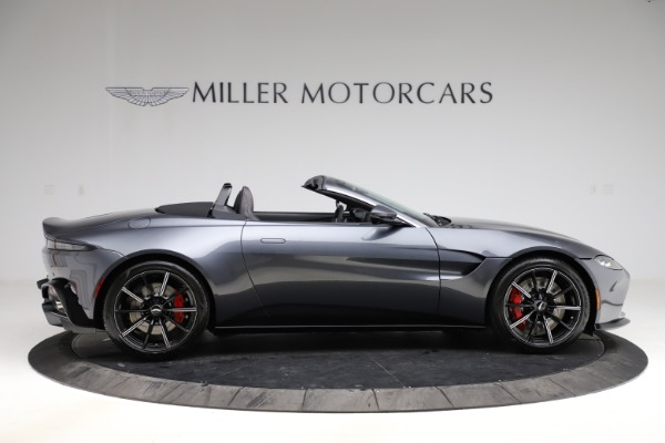 New 2021 Aston Martin Vantage Roadster Convertible for sale Sold at Bugatti of Greenwich in Greenwich CT 06830 8