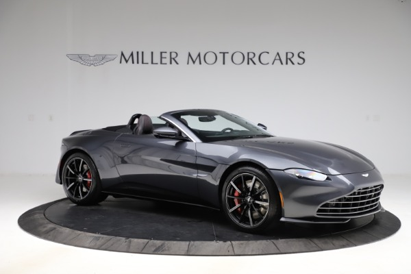New 2021 Aston Martin Vantage Roadster Convertible for sale Sold at Bugatti of Greenwich in Greenwich CT 06830 9