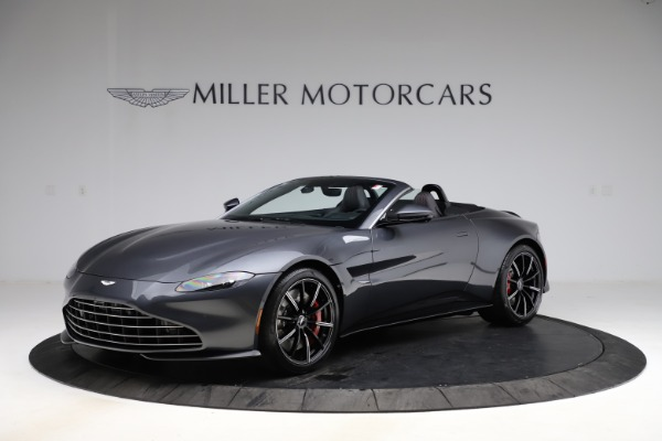 New 2021 Aston Martin Vantage Roadster Convertible for sale Sold at Bugatti of Greenwich in Greenwich CT 06830 1