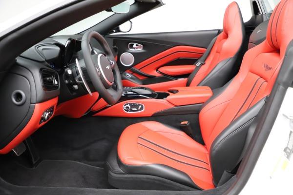 New 2021 Aston Martin Vantage Roadster Convertible for sale $189,186 at Bugatti of Greenwich in Greenwich CT 06830 14
