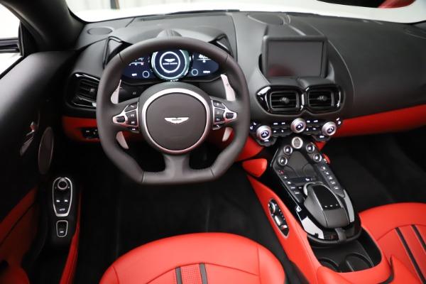 New 2021 Aston Martin Vantage Roadster Convertible for sale $189,186 at Bugatti of Greenwich in Greenwich CT 06830 17