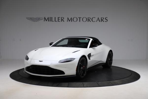 New 2021 Aston Martin Vantage Roadster Convertible for sale $189,186 at Bugatti of Greenwich in Greenwich CT 06830 21