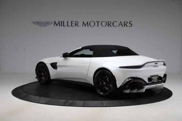 New 2021 Aston Martin Vantage Roadster Convertible for sale $189,186 at Bugatti of Greenwich in Greenwich CT 06830 23