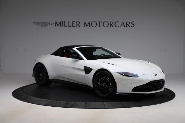New 2021 Aston Martin Vantage Roadster Convertible for sale $189,186 at Bugatti of Greenwich in Greenwich CT 06830 26
