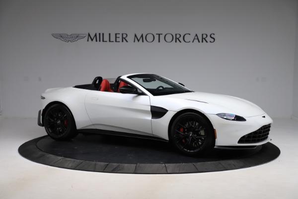 New 2021 Aston Martin Vantage Roadster Convertible for sale $189,186 at Bugatti of Greenwich in Greenwich CT 06830 9