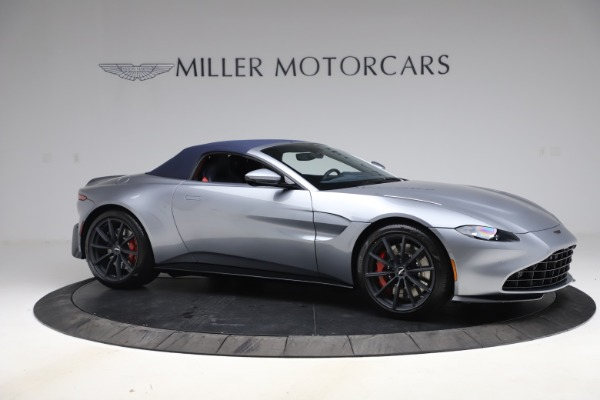 New 2021 Aston Martin Vantage Roadster Convertible for sale Sold at Bugatti of Greenwich in Greenwich CT 06830 19