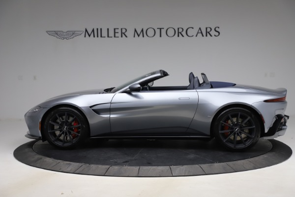 New 2021 Aston Martin Vantage Roadster Convertible for sale Sold at Bugatti of Greenwich in Greenwich CT 06830 2