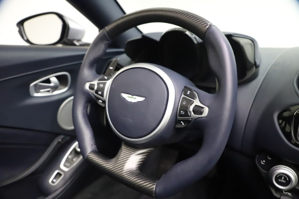 New 2021 Aston Martin Vantage Roadster Convertible for sale Sold at Bugatti of Greenwich in Greenwich CT 06830 26