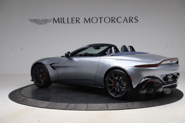 New 2021 Aston Martin Vantage Roadster Convertible for sale Sold at Bugatti of Greenwich in Greenwich CT 06830 3