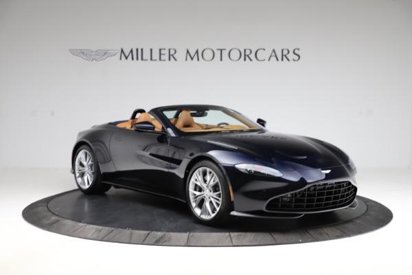 New 2021 Aston Martin Vantage Roadster Convertible for sale $205,686 at Bugatti of Greenwich in Greenwich CT 06830 10