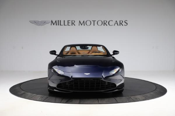 New 2021 Aston Martin Vantage Roadster Convertible for sale $205,686 at Bugatti of Greenwich in Greenwich CT 06830 11