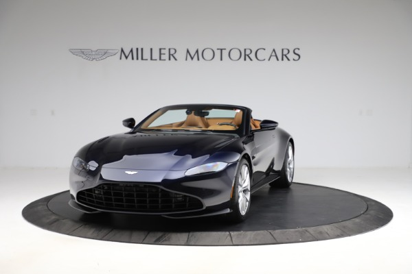 New 2021 Aston Martin Vantage Roadster Convertible for sale $205,686 at Bugatti of Greenwich in Greenwich CT 06830 12