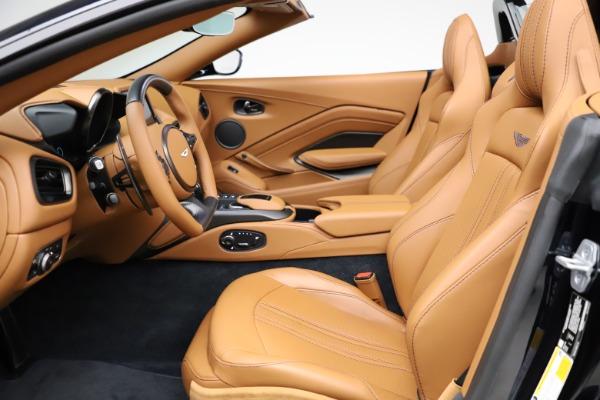 New 2021 Aston Martin Vantage Roadster Convertible for sale $205,686 at Bugatti of Greenwich in Greenwich CT 06830 14
