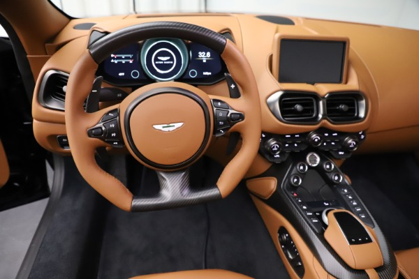 New 2021 Aston Martin Vantage Roadster Convertible for sale $205,686 at Bugatti of Greenwich in Greenwich CT 06830 17