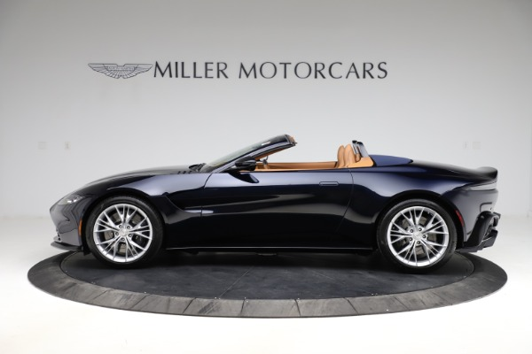 New 2021 Aston Martin Vantage Roadster Convertible for sale $205,686 at Bugatti of Greenwich in Greenwich CT 06830 2