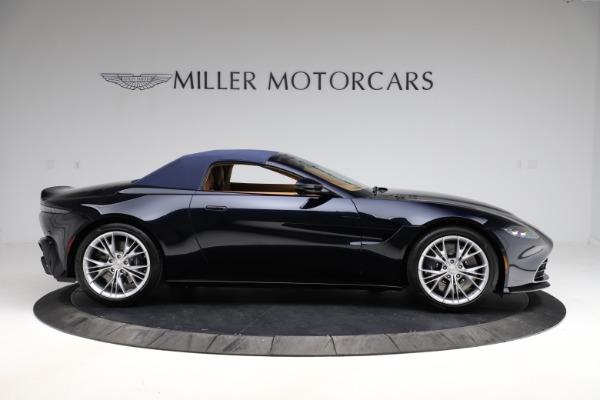 New 2021 Aston Martin Vantage Roadster Convertible for sale $205,686 at Bugatti of Greenwich in Greenwich CT 06830 22