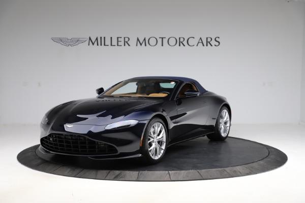 New 2021 Aston Martin Vantage Roadster Convertible for sale $205,686 at Bugatti of Greenwich in Greenwich CT 06830 24