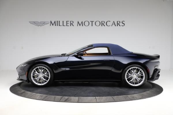New 2021 Aston Martin Vantage Roadster Convertible for sale $205,686 at Bugatti of Greenwich in Greenwich CT 06830 25