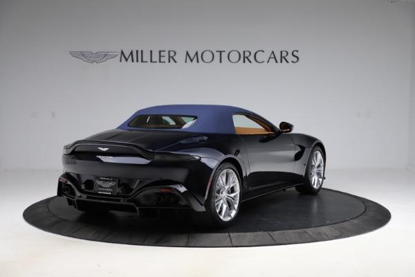 New 2021 Aston Martin Vantage Roadster Convertible for sale $205,686 at Bugatti of Greenwich in Greenwich CT 06830 27