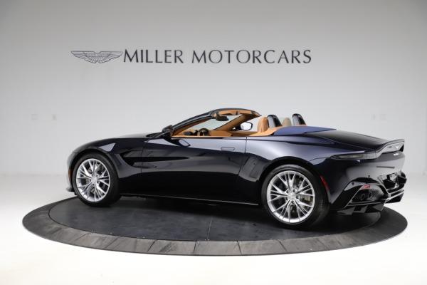 New 2021 Aston Martin Vantage Roadster Convertible for sale $205,686 at Bugatti of Greenwich in Greenwich CT 06830 3