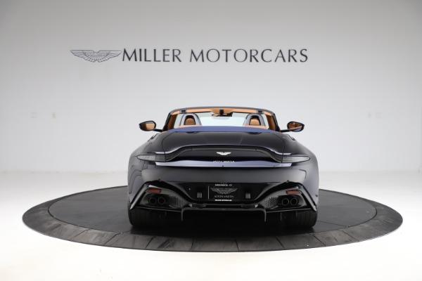 New 2021 Aston Martin Vantage Roadster Convertible for sale $205,686 at Bugatti of Greenwich in Greenwich CT 06830 5
