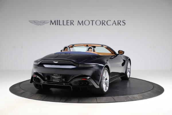 New 2021 Aston Martin Vantage Roadster Convertible for sale $205,686 at Bugatti of Greenwich in Greenwich CT 06830 6