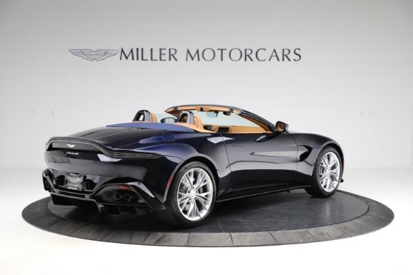 New 2021 Aston Martin Vantage Roadster Convertible for sale $205,686 at Bugatti of Greenwich in Greenwich CT 06830 7